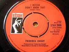 """Frederick KNIGHT-I Betcha ne savais pas que 7"""" vinyle"""
