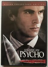 American Psycho Dvd Uncut Version Killer Collector's Edition Christian Bale