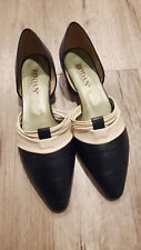 Vintage Womens Rodan Flats Shoes Sandals Made in Italy Navy Size 11B
