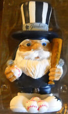 RARE NEW YORK YANKEES LARGE TEAM GNOME HAT BAT AND BALLS FOREVER NIB