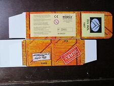 BOITE VIDE NOREV  CITROEN 2CV AZL 1957 EMPTY BOX CAJA VACCIA