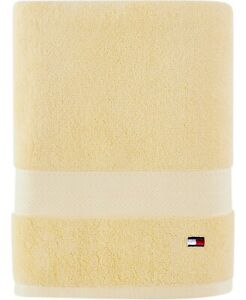 NEW One Tommy Hilfiger Bath Towel 100% Cotton 27 X 52 Various Colors Collection