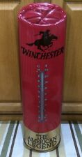 WINCHESTER GUN THERMOMETER Large Ammo Rifle Shotgun Shell Pistol Hunting