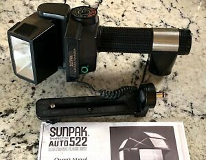 Sunpak Auto 522 Thyristor Flash Complete