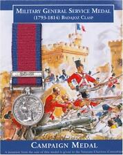 Minature Military General Service Medal with a Badajoz clasp 1793-1814
