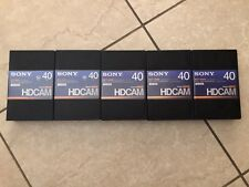 Sony BCT-40HD HDCAM Video Tape (Never Used)