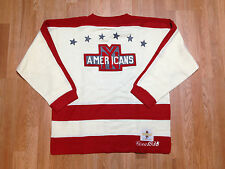 1938 VTG New York Americans CCM Heritage Jersey Sweater Hockey Wool Stanley Cup