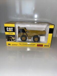 2002 NORSCOTT/CAT 1:50 SCALE 777D OFF HIGHWAY DUMP TRUCK DIE-CAST NEW IN BOX