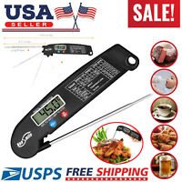 Instant Read Digital Meat Thermometer BBQ Grill Smoker For Kitchen Food Cooking