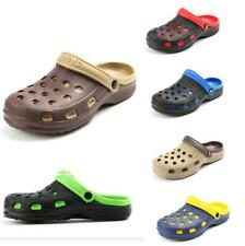 Chic Mens Rubber Sole Slingback Casual Garden Summer Ventilated Slippers Clogs