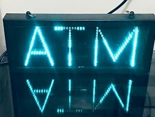 Atm Neon Static Boxed Electric Sign bar mancave led Flashing man cave pool table