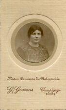 PHoto d'une femme collée cartonnage studio G Gossens à CHAMPIGNY SUR MARNE