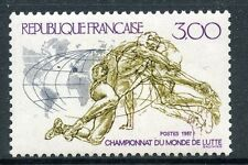 STAMP / FRANCE NEUF ** N° 2482 SPORT LUTTE CLERMONT-FERRAND