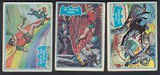 1966 TOPPS BATMAN BLUE BAT CARDS FULL SET 44/44