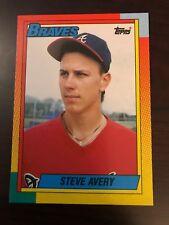 1990 Topps Traded Steve Avery Atlanta Braves 4T