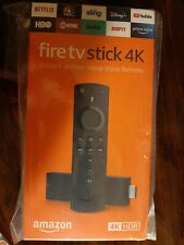 Amazon Fire TV Stick 4K With Alexa Voice Remote Streaming Media Player / NEW
