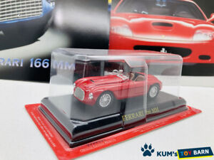 1:43 Ferrari Collection Hachette FERRARI 166MM Red Rare
