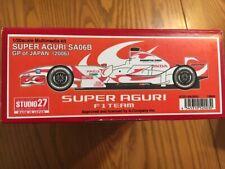Studio 27 1/20 Super Aguri SA06B (SA2003)