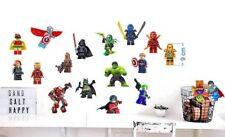 Lego Figuren 18 Wandtattoo Wandaufkleber Kinder Decoration wall stickers 9cm