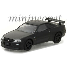 GREENLIGHT 27930 D BLACK BANDIT SERIES 18 2000 NISSAN SKYLINE GT R R34 1/64