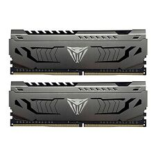 NEW! Patriot Viper Steel Series Ddr4 16Gb 2 X 8Gb 3600Mhz Kit W/Gunmetal Grey He