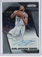 2017-18 Karl-Anthony Towns Panini Prizm Auto #SG-KT Autograph Timberwolves NBA