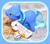 ❤️Vtg My Little Pony Phony Fake Fakie Clone Rainbow Newborn Baby Dutch Blue DG❤️