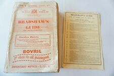 More details for feb 1957 original bradshaws railway guide timetable handbook