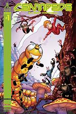 Centipede #1 Cover C Dan Schkade Homage Variant Atari Comic