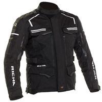 Richa Touareg 2 Textile Touring Adventure Motorcycle/Motorbike Jacket BLACK ZE