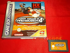 TONY HAWK PRO SKATER 4 Game Boy Advance Versione Italiana ○ SENZA MANUALE - FT