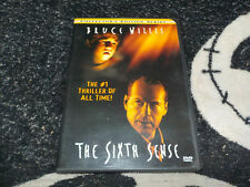 The Sixth Sense Collectors Edition Series Dvd +Insert Bruce Willis Free Shipping