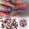Art Nail Decoration 3D Butterfly Flakes Nail Glitter Sequins Holographic Laser