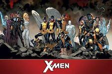 X-MEN - TEAM CHARACTERS POSTER - 22x34 - MARVEL COMICS 14857