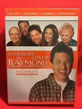 Everybody Loves Raymond - The Complete Fourth Season (DVD, 2005, 5-Disc Set)