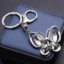 Diy Metal Charm Butterfly Keyring Hs Vintage Keychain Pendant Key Ring Fashion