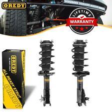 OREDY Kit (2) Front Shocks Struts W/ Coil Spring For Honda Civic Sedan 2006-2011