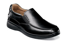 Florsheim Men's Shoes Great Lakes Moc Toe Slip On Black 13320-001