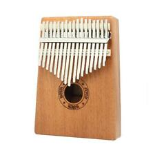 17 Key Kalimba Mahogany Thumb Piano Finger Solid Keyboard Musical Instrument