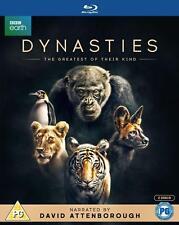 Dynasties David Attenborough Blu ray RB New release
