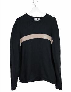 Armani Exchange Black Knitted Jumper   Large