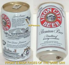 PITTSBURGH STEELERS NFL-PIRATES 3 RIVERS STADIUM+NHL-PENGUINS IGLOO TIN BEER CAN