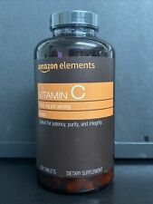 Amazon Elements Vitamin C 1000 mg Dietary Supplement - 300 Tablet New Sealed