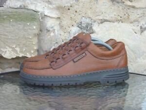 Mephisto Cruiser Comfort Shoes UK8 Brown Tan Leather Casual Oi Polloi Rainbow