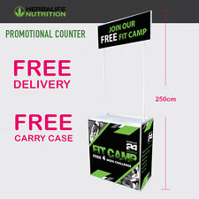 Herbalife Promotional Display Stands -Popup/Portable/Exhibition Stand_24Fit Camp