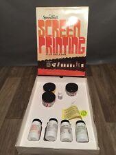 Speedball Diazo Fabric & Paper Screen Printing Serigraphie Kit
