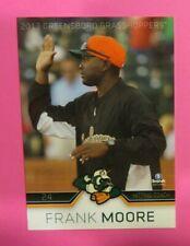 2013 Brandt, Greensboro Grasshoppers, Hitting Coach - FRANK MOORE