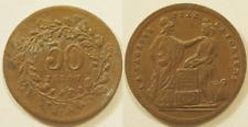 La Sagesse fixe la Fortune, 50 jetons, vers 1890 !!