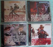 Rare Spaguetti Western Encyclopedia Vol.1-2-3-4 ( CD Japan King Records/ obi)