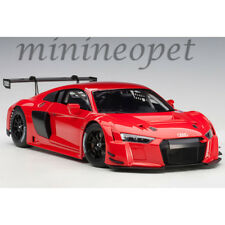AUTOart 81601 AUDI R8 LMS 1/18 MODEL CAR PLAIN COLOR VERSION RED